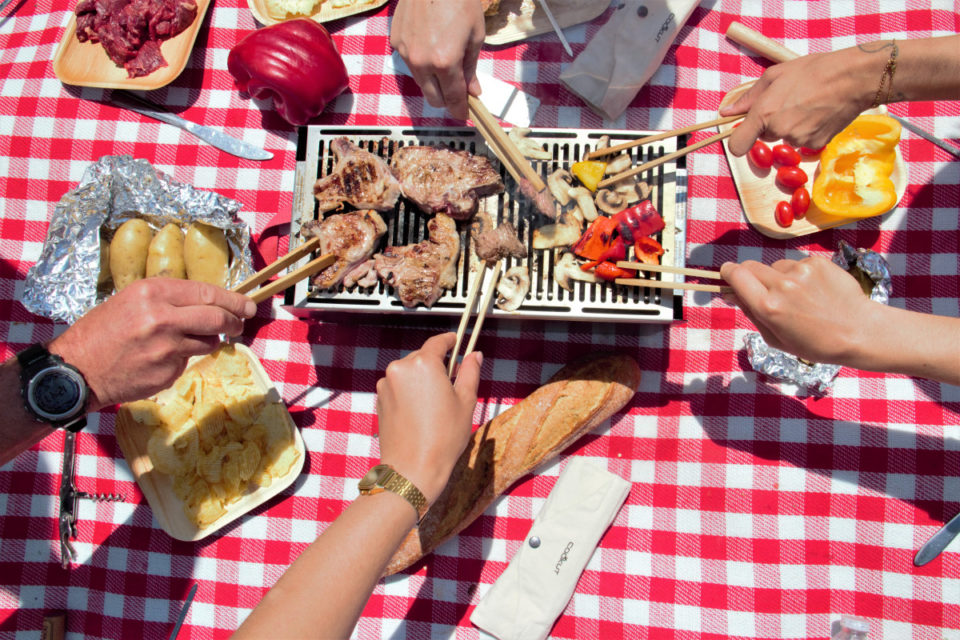 Le barbecue réinventé – Cookut – sharing cuisine